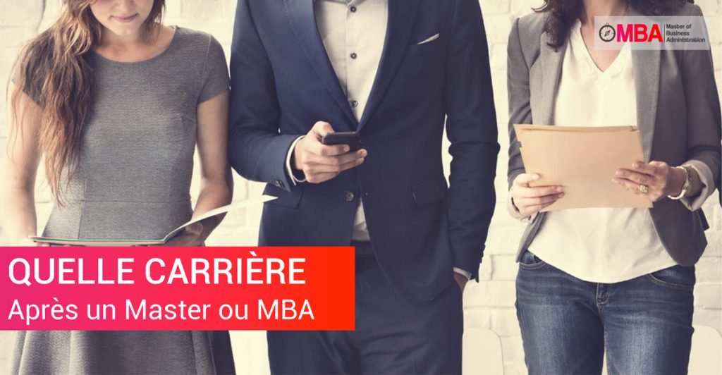 Carrière Après un Master ou MBA ? I MBA.MA