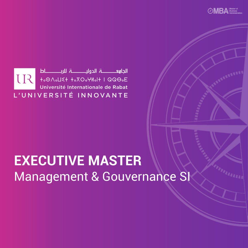 Management et Gouvernance des SI - UIR I MBA.MA