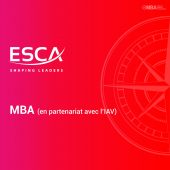 MBA ESCA I MBA.ma, le guide des Masters et MBA au Maroc