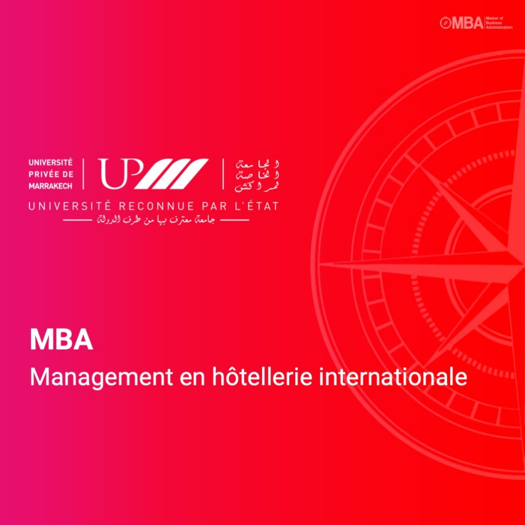 MBA Management en hottellerie internationale