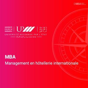 MBA Management en hottellerie internationale