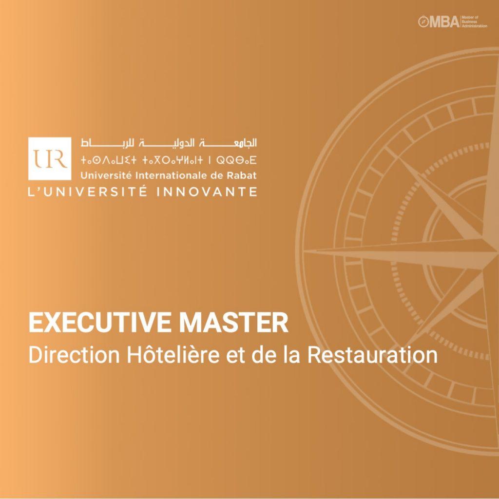 Master Direction Hôtelière et de la Restauration - Ostelea