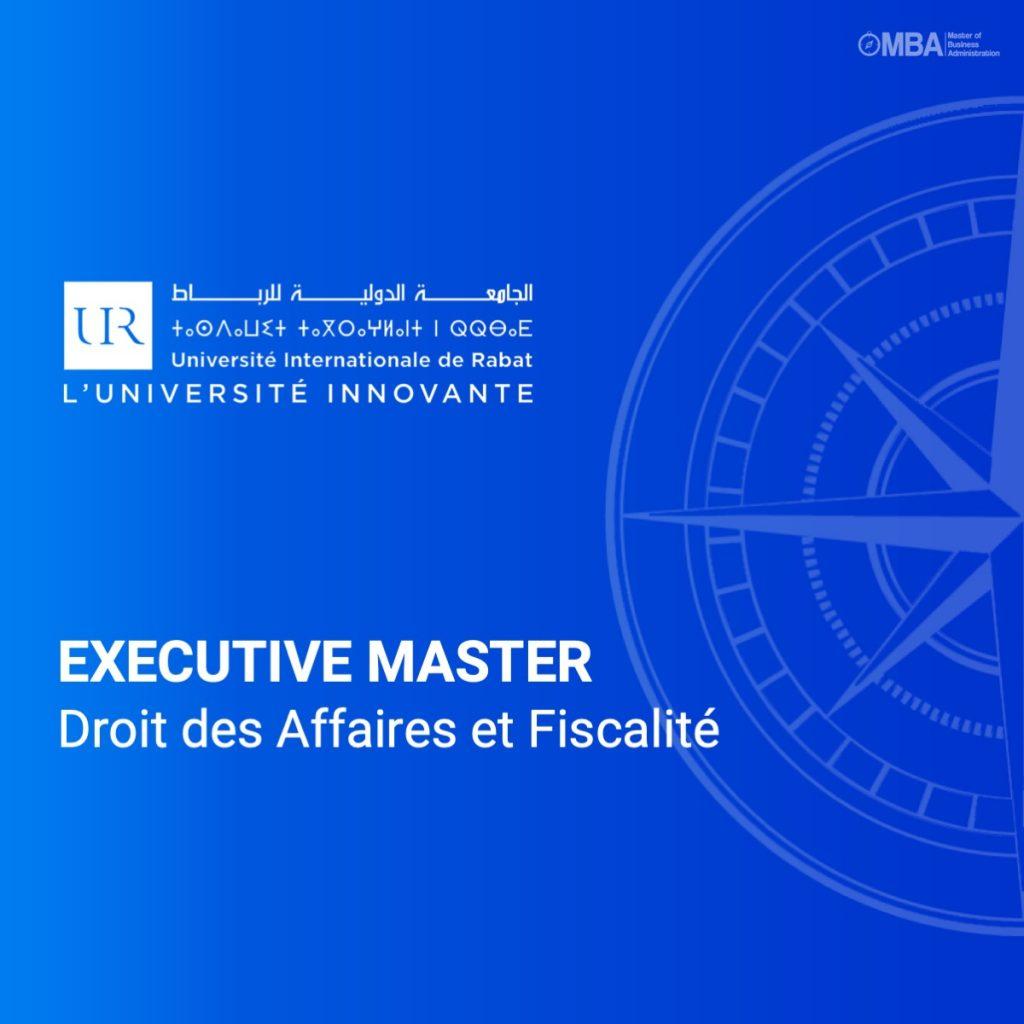 Master Droit des Affaires et Fiscalité