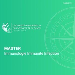 Master Immunologie Immunité Infection - UM6SS