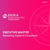 Master Marketing digital et e-business - ESLSCA