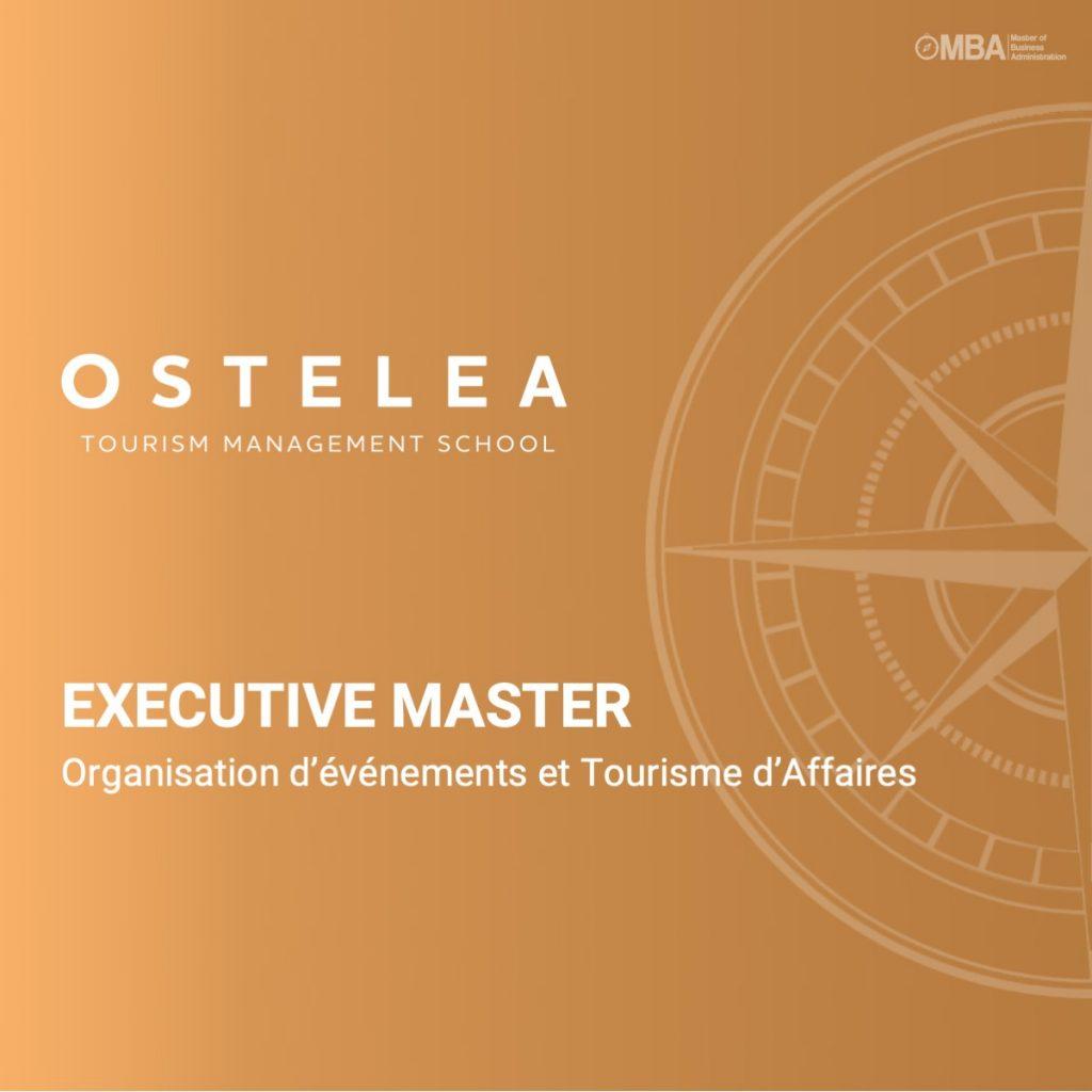 Master Organisation d'événements et Tourisme d'Affaires - Ostelea