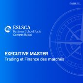 Master Trading et Finance des marchés - ESLSCA