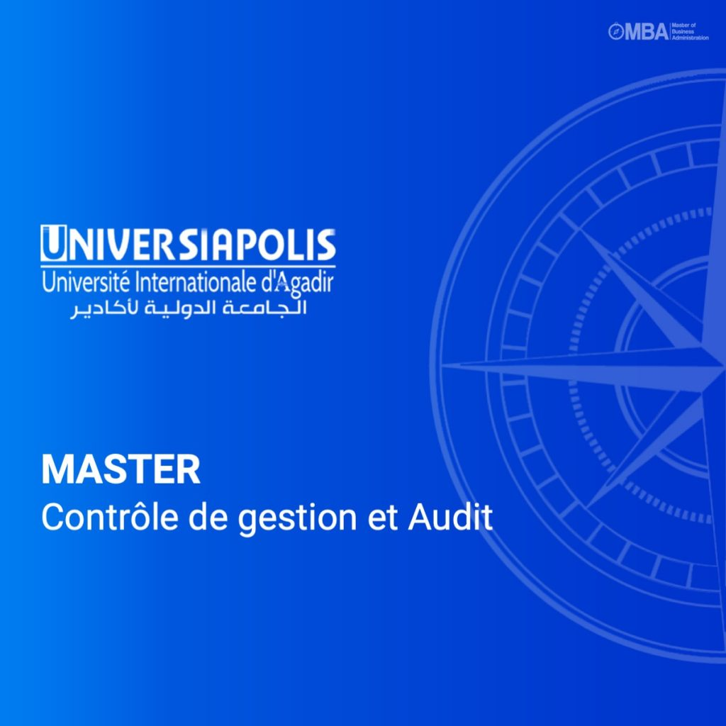 Master controle de gestion et audit - Universiapolis