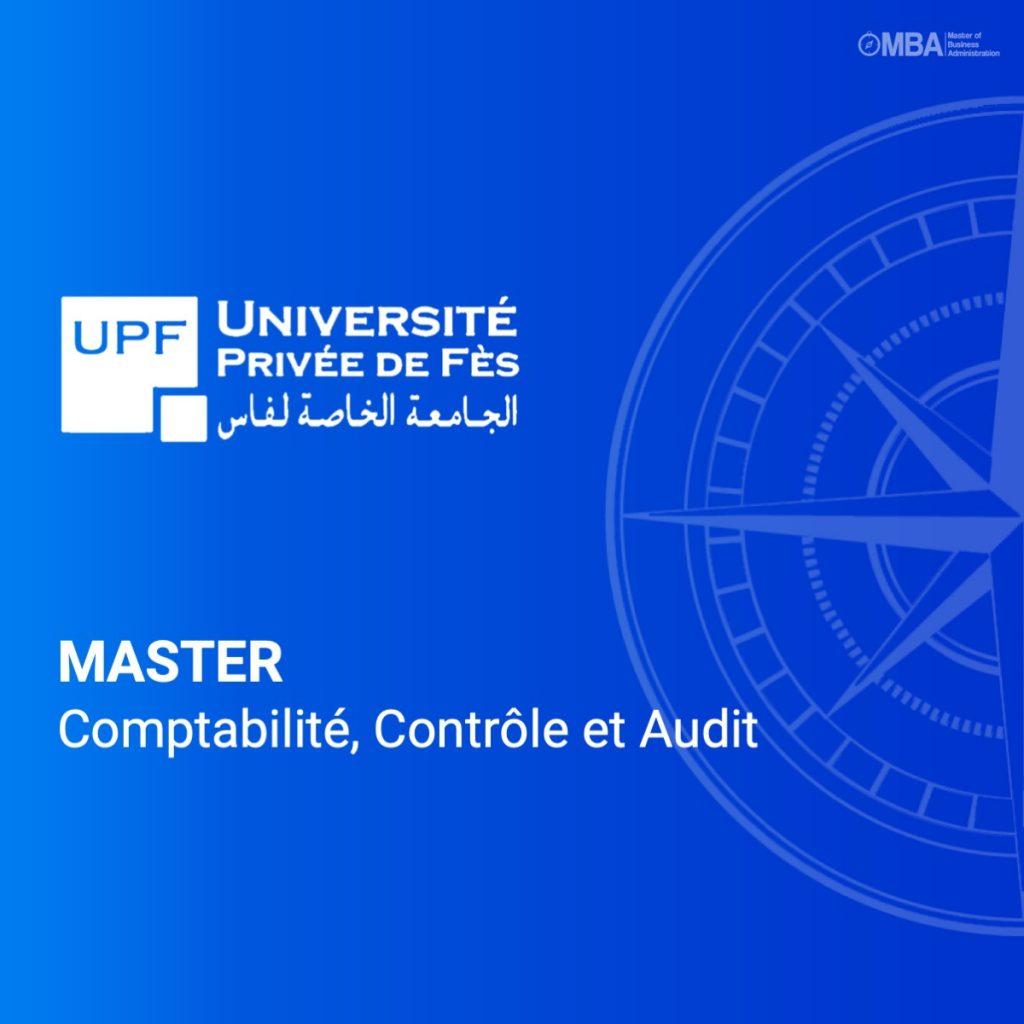 Master en comptabilité, controle et audir
