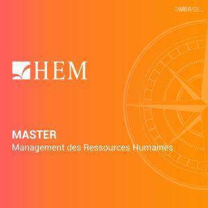 Master Management Ressources Humaines de HEM I MBA.ma