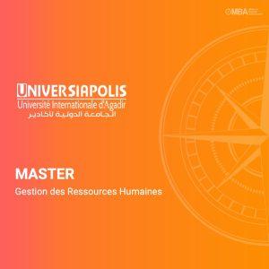 Master gestion des ressources humaines - Universiapolis