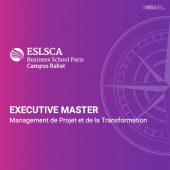 Master management de projet et de la transformation - ESLSCA