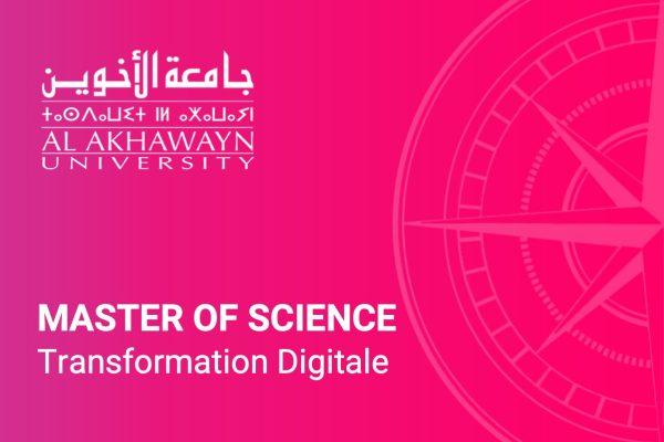 Master of science transformation digitale - AUI