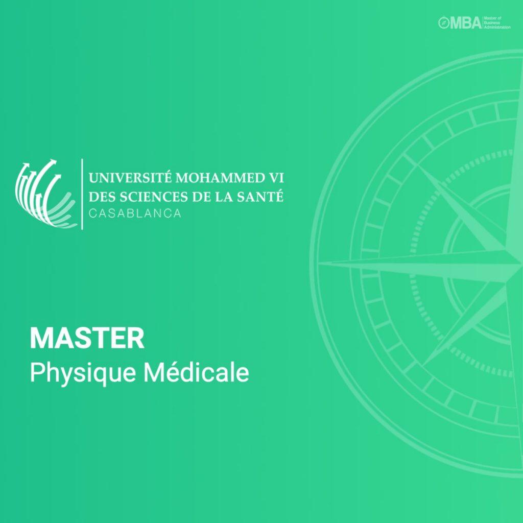 Master physique médicale