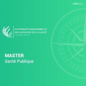 Master santé publique - UM6SS