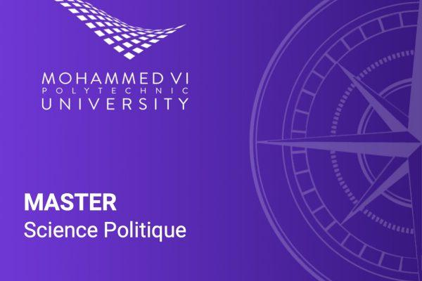 Master Science Politique de l'UM6P I MBA.ma, le guide des Masters