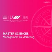 Master sciences management marketing