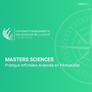 Master Pratique Infirmière Avancée en Périnatalité - UM6SS