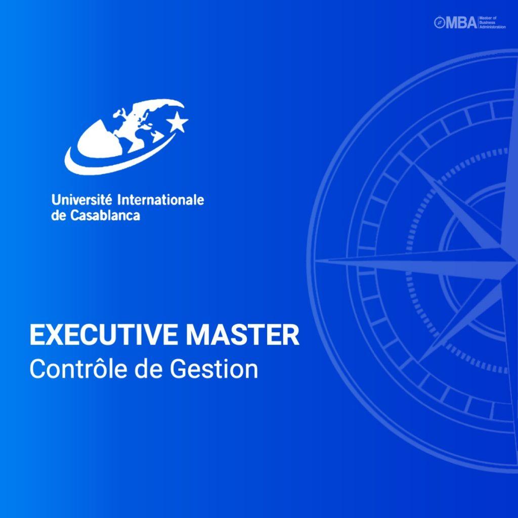 Master Contrôle de Gestion - UIC