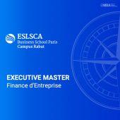 master de finance d'entreprise - eslsca
