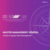 master management général achats et supply chain