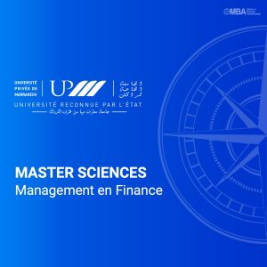 master sciences management en finance - UPM