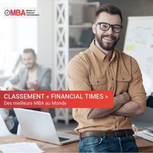 """Le classement """"Financial Times"""" des meilleurs MBA au Monde I MBA.MA"""