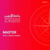 Master Arts in Islamic Studies - AUI