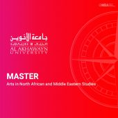 Master Arts in North African and Middle Eastern Studies-AUI