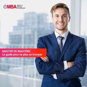 Master ou Mastère ? MBA.MA