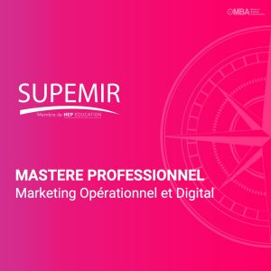 Mastere professionnel en marketing opérationnel et digital - Supemir