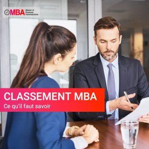 Classement MBA, ce qu'il faut savoir I MBA.MA