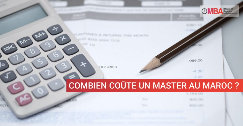 Combien coute un master ? I MBA.MA