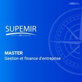 Master gestion et finance d'entreprise - Supemir