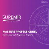 master professionnel entrpreneuriat - Supemir