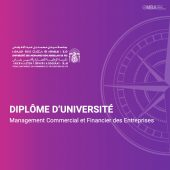 Diplome d'université en management commercial et financier-ENCGF