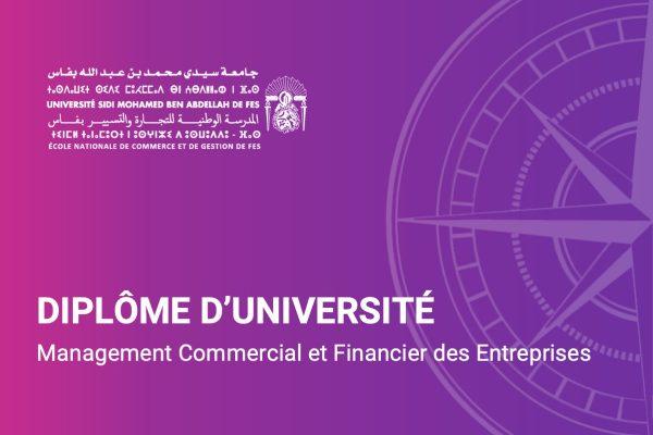 Diplome d'université en management commercial et financier-ENCGF