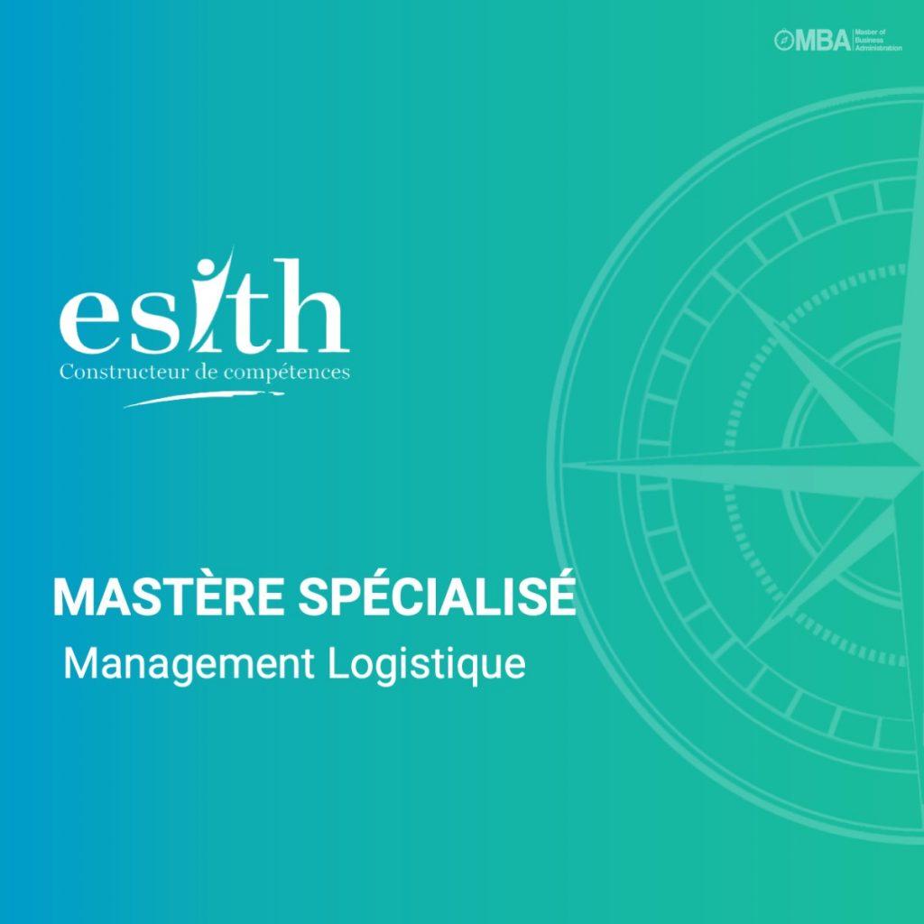 Mastère Spécialisé en Management Logistique - ESITH