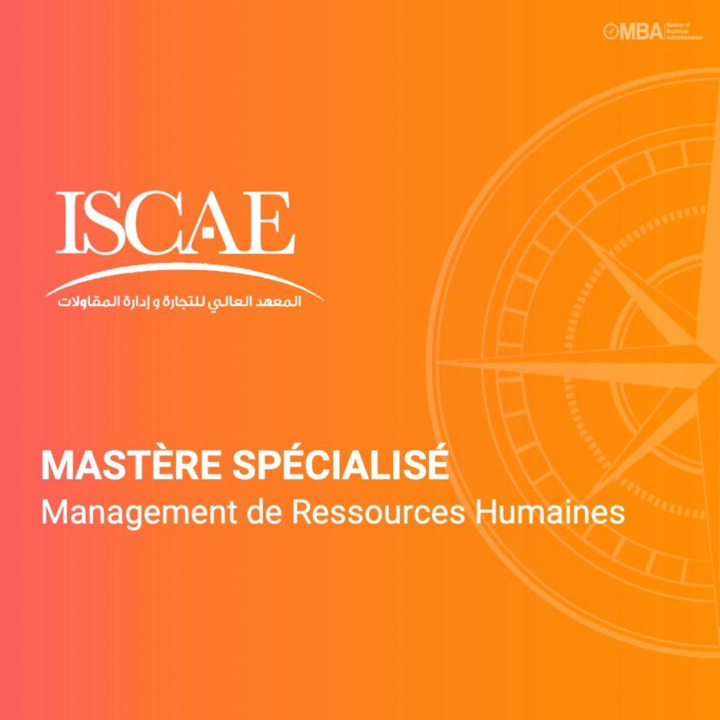 Mastère spécialisé en management de ressources humaines - ISCAE