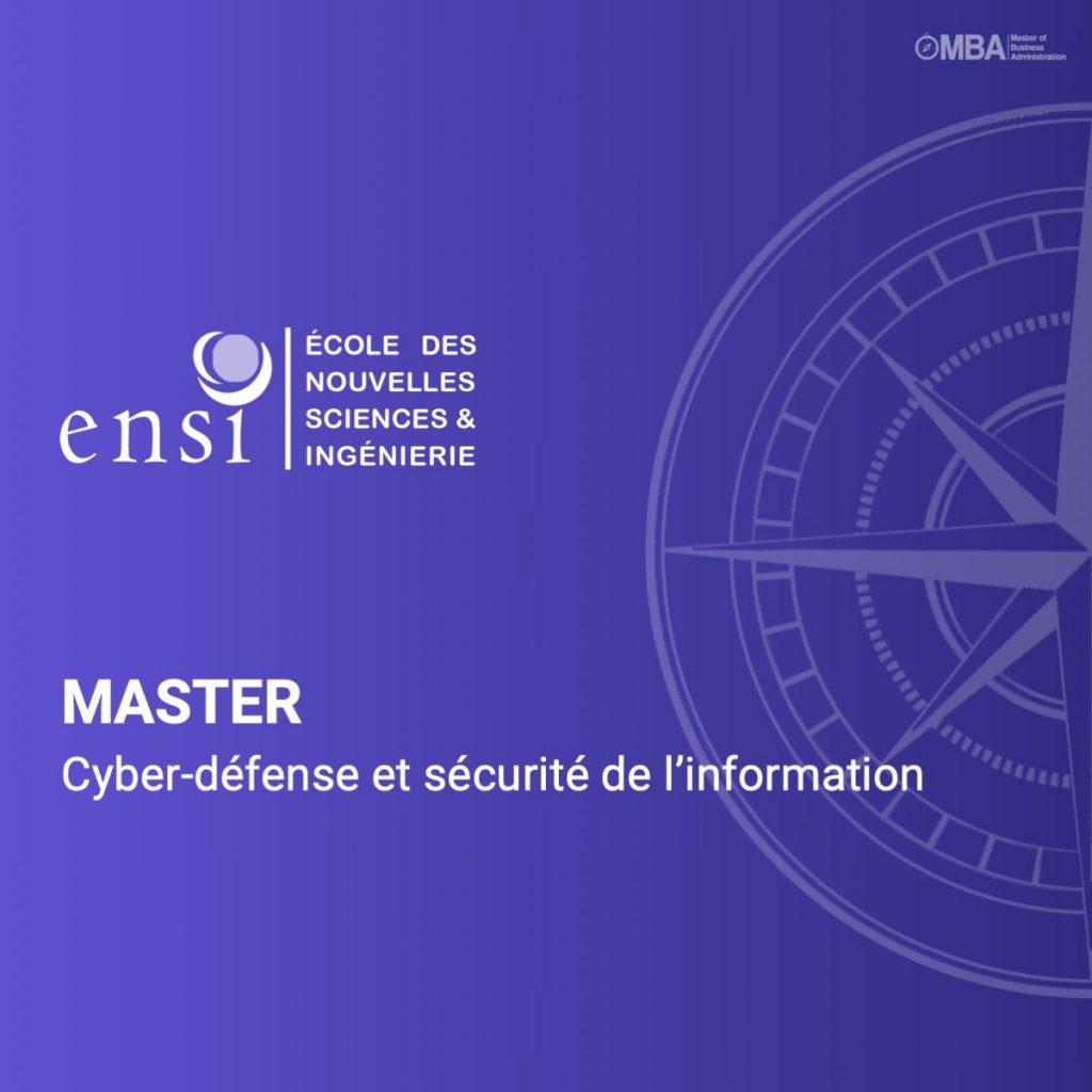 Master Cyber-défense et sécurité de l'information-ENSI