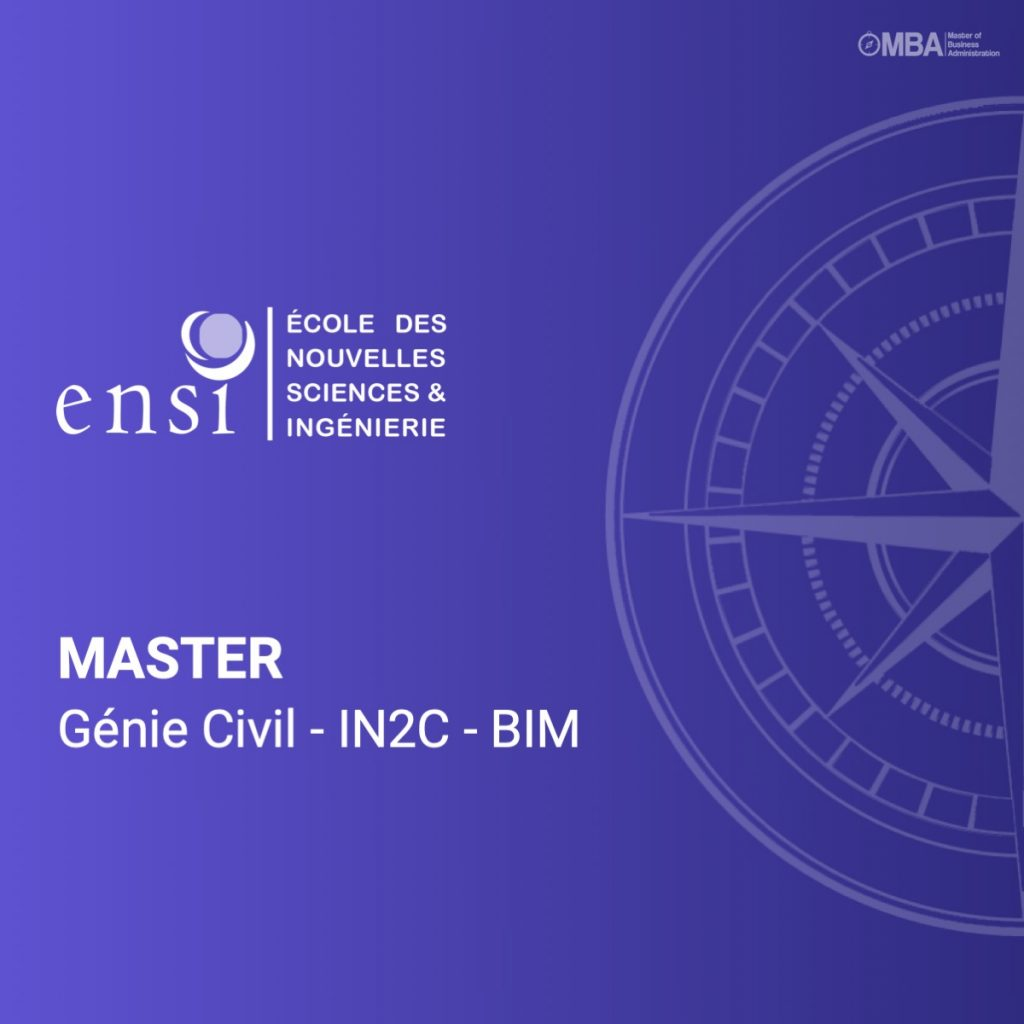 Master Génie Civil-IN2C-BIM_ENSI