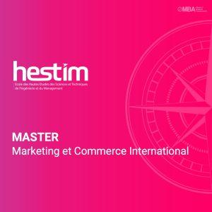 Master Marketing et Commerce International-HESTIM