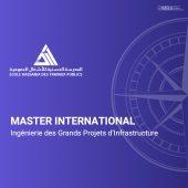 Master international Ingénierie des Grands Projets d'Infrastructure - EHTP