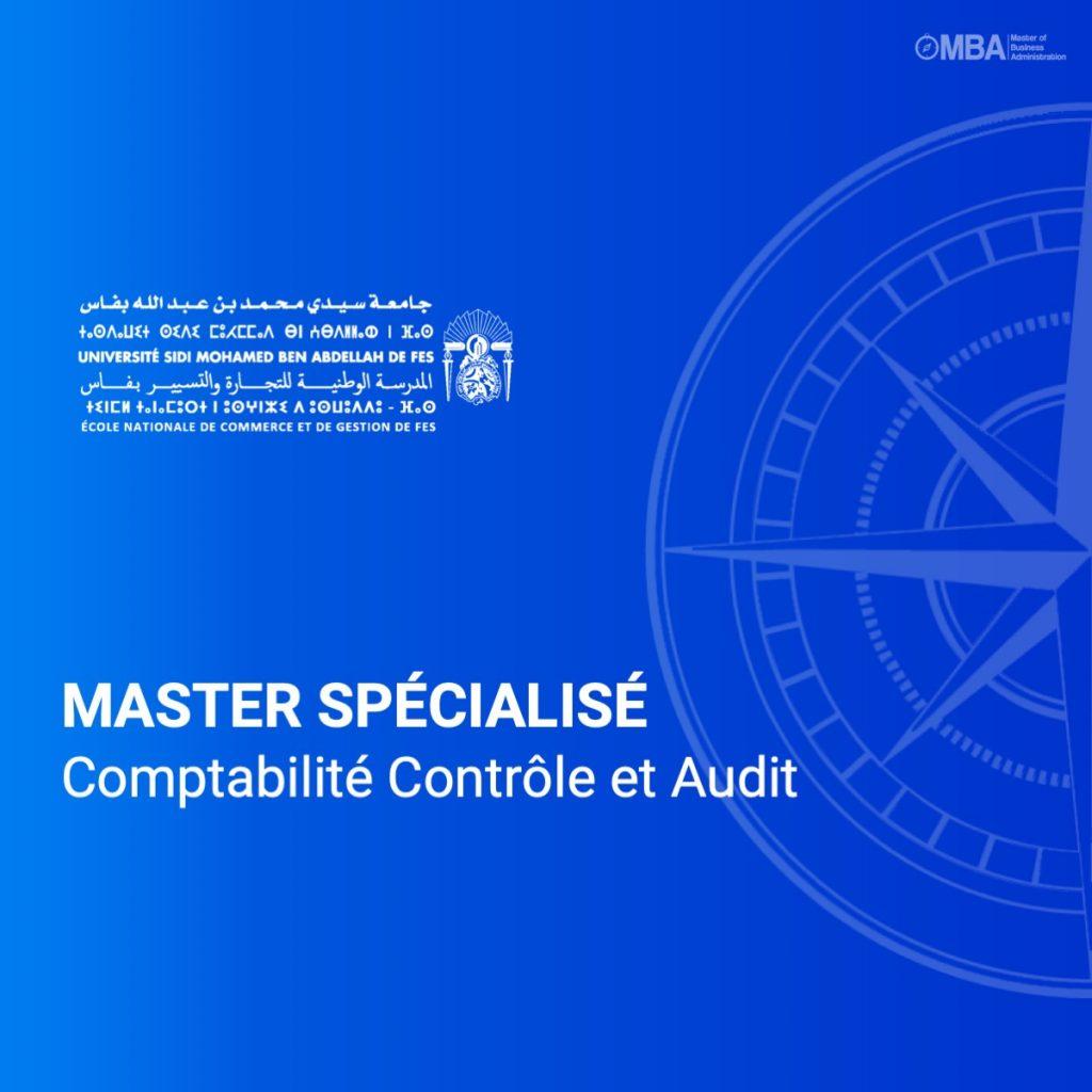Master spécialisé Comptabilité Contrôle et Audit- ENCGF