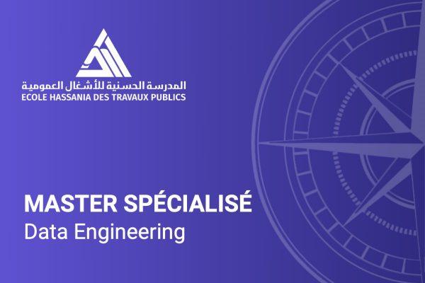 Master Spécialisé Data Engineering Ingénierie de données EHTP