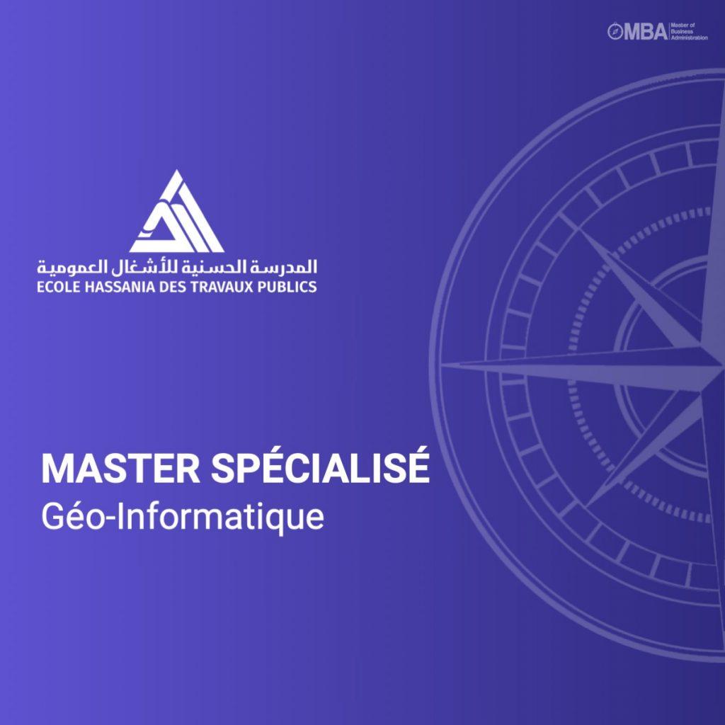Master spécialisé Géo-Informatique-EHTP