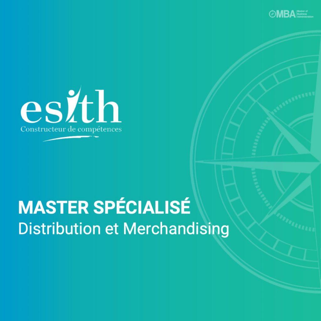 Master spécialisé en Distribution et Merchandising - ESITH
