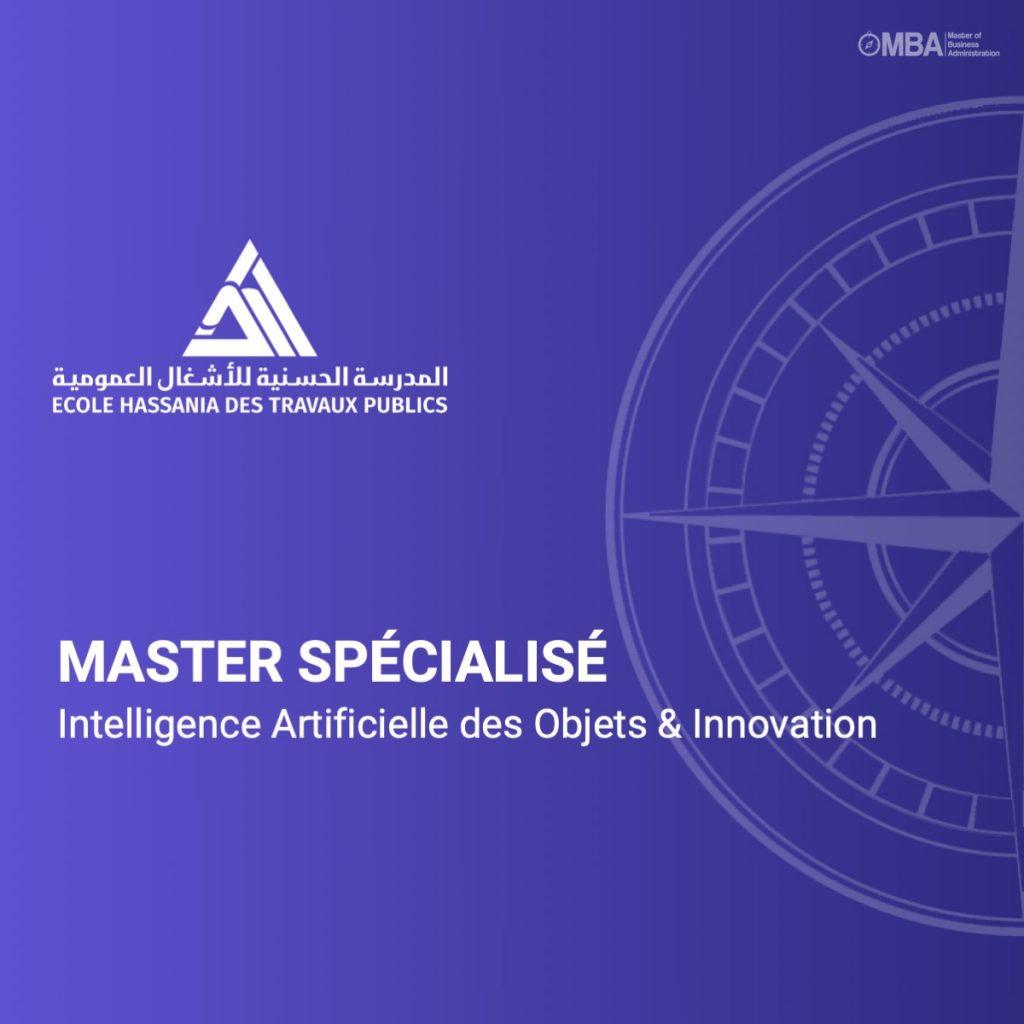 Master spécialisé en Intelligence Artificielle des Objets & Innovation-EHTP