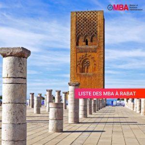 mba à Rabat