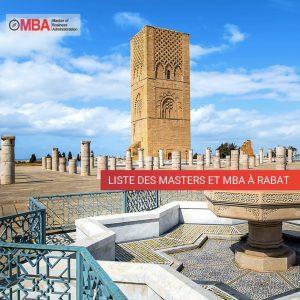 liste des masters et MBA à Rabat